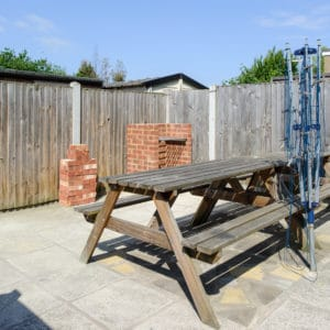 Rear courtyard area, Room to rent in Margate Road, Ramsgate