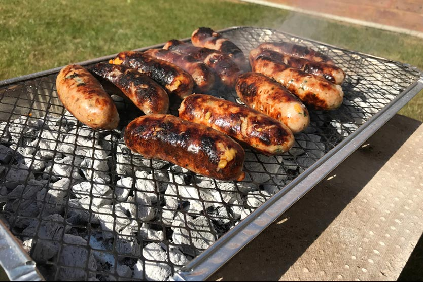 How to cook your food thoroughly using a disposable barbeque